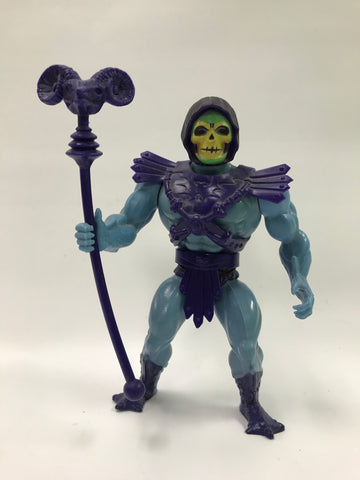 1981 Mattel He-Man & The Masters of the Universe Half Boot Skeletor Loose