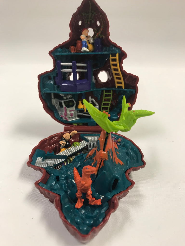 1992 Bluebird Mighty Max Blows Up The Dino Lab Doom Zone Playset Complete