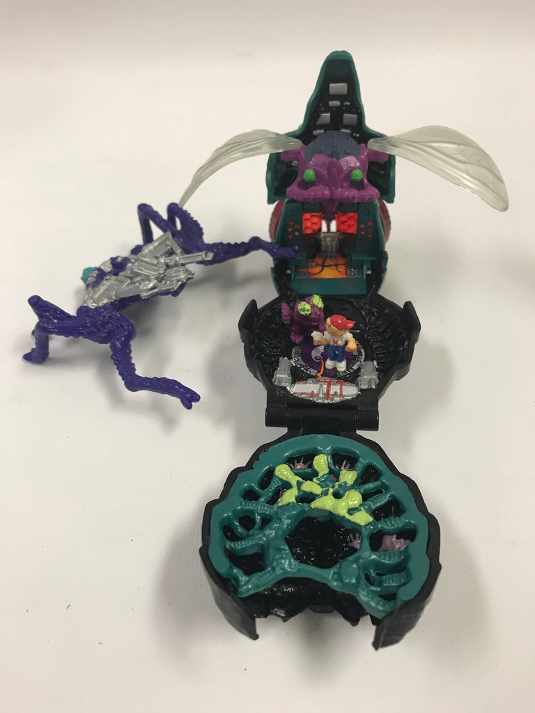 1992 Bluebird Mighty Max Squishes the Fly Playset Complete