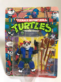 1990 Playmates Teenage Mutant Ninja Turtles TMNT Panda Khan MOC