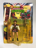 1992 Playmates Teenage Mutant Ninja Turtles TMNT Movie III April O' Neal MOC