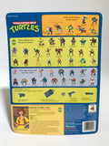 1990 Playmates Teenage Mutant Ninja Turtles TMNT 44 Back April O' Neal Orange & Yellow MOC