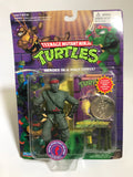 1994 Playmates Teenage Mutant Ninja Turtles TMNT Movie Star Foot Soldier with Coin MOC