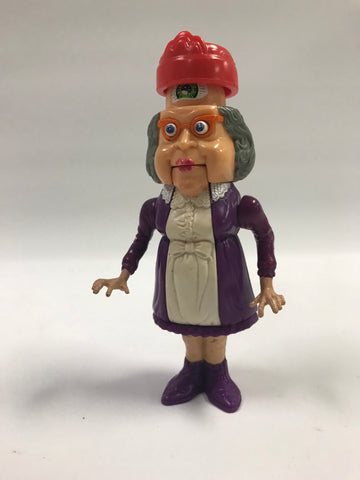 1988 Kenner The Real Ghostbusters Haunted Humans Granny Gross Loose Complete