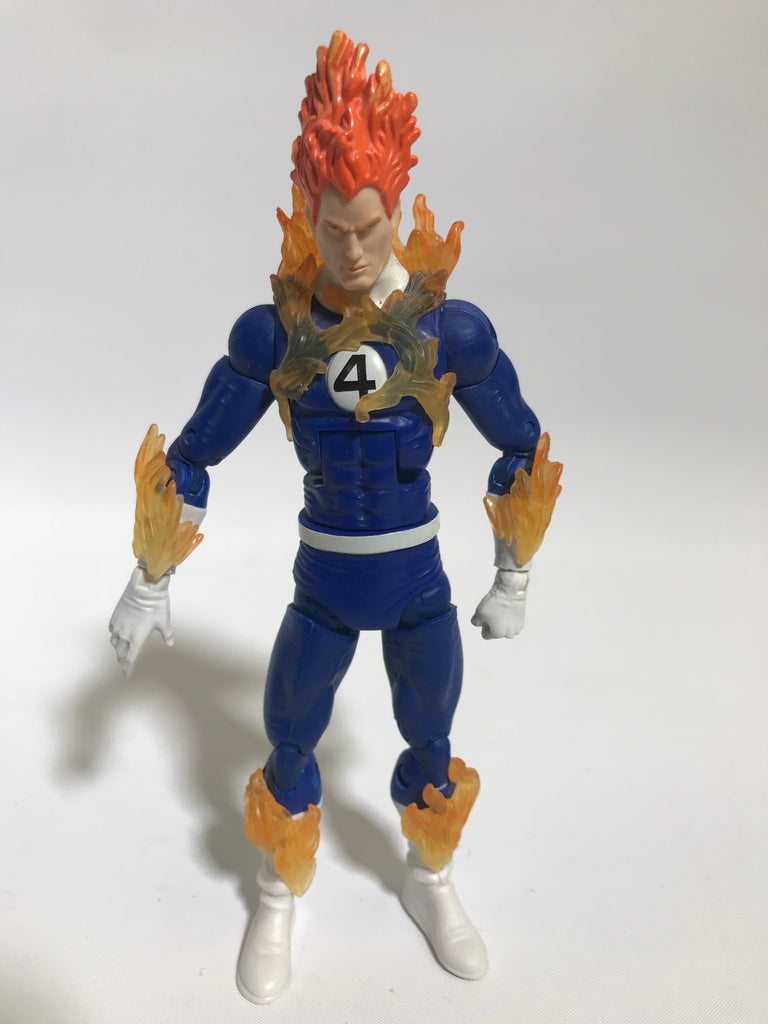 Hasbro Marvel Legends The Human Torch Johnny Storm Loose