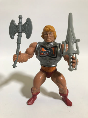 1983 Mattel He-Man & The Masters of the Universe Battle Armor He-Man Loose Complete