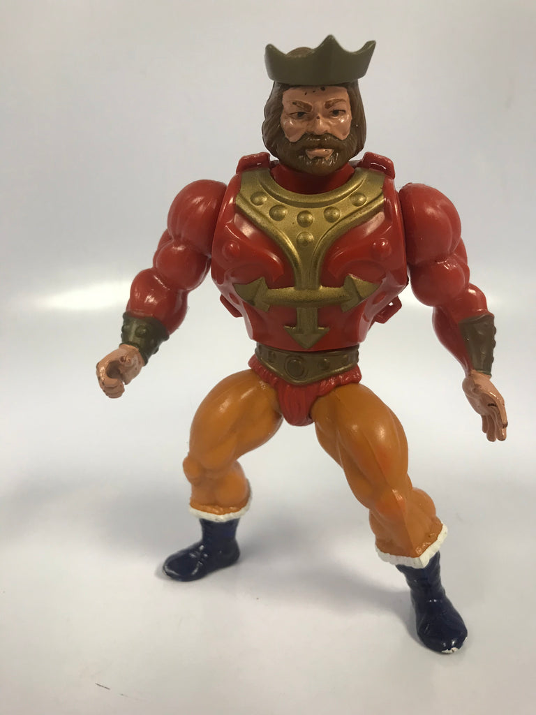 1985 Mattel He-Man Masters of the Universe MOTU Vintage Eternia King Randor Loose Not Complete