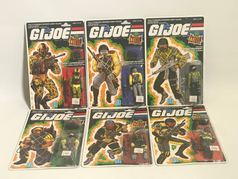 1988 Vintage GI Joe Sgt. Slaughter's Marauders Complete Set MOC Sealed New