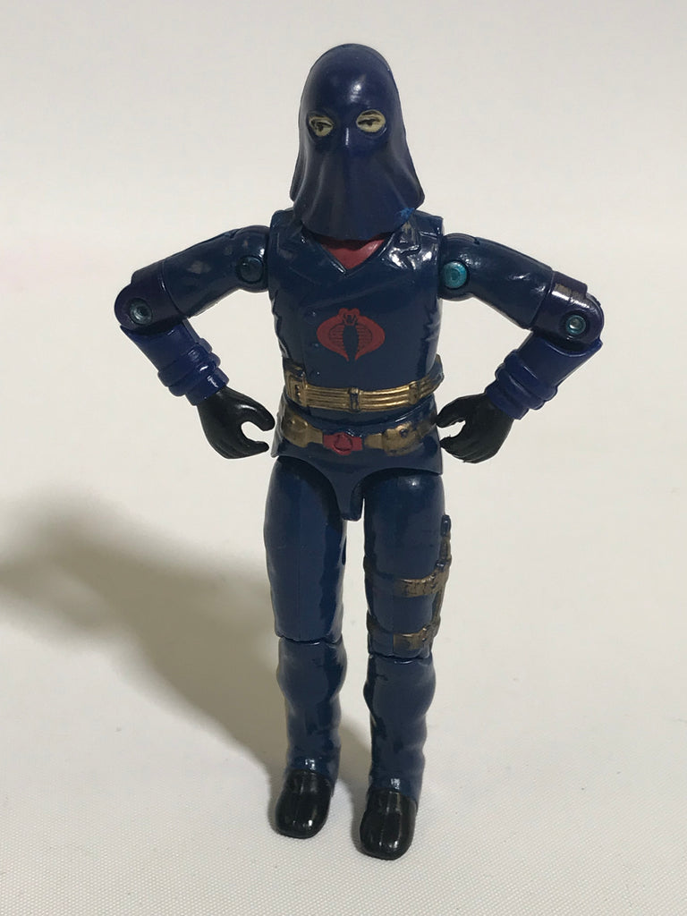 1983 Hasbro Gi Joe COBRA COMMANDER (v2) ENEMY LEADER Loose Not Complete