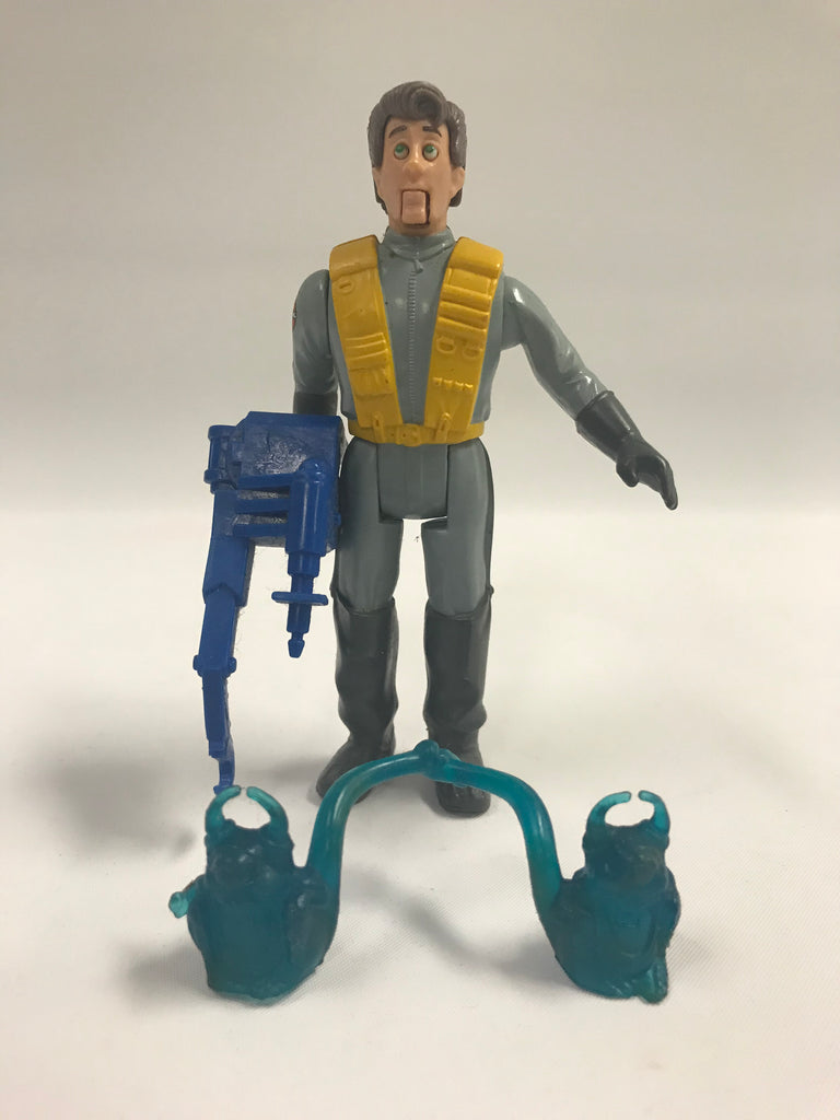 1987 Kenner The Real Ghostbusters Fright Features Peter Venkman Loose Complete