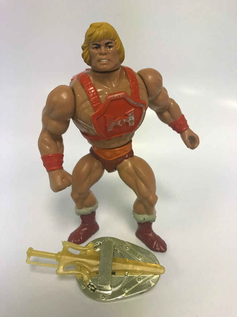 1983 Mattel He-Man & The Masters of the Universe Thunder Punch He-Man Loose Complete