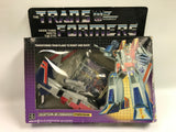 1985 Hasbro Transformers G1 Starscream In Box Missiles Still on the Tree!