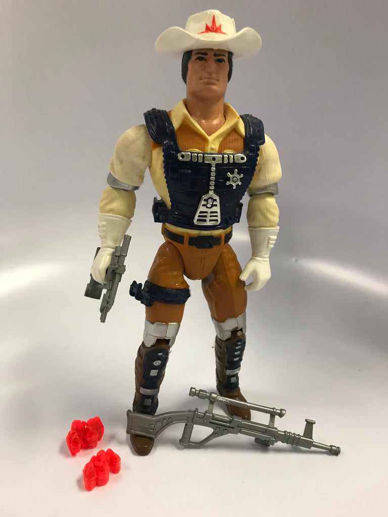 1986 Mattel Marshal Bravestarr with Quick Draw Action Loose Complete