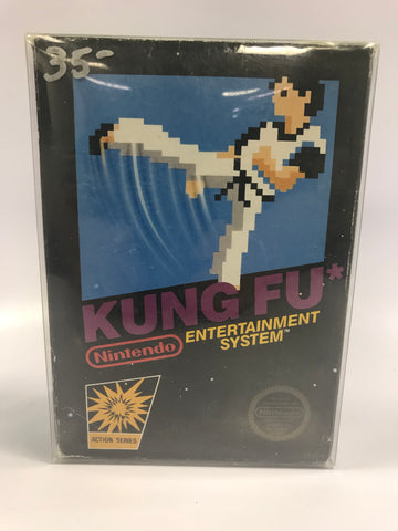1985 Nintendo NES Kung Fu Video Game Complete In Box