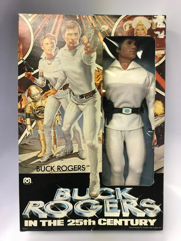 "1979 Mego Buck Rogers in the 25th Century (Gil Gerard) 12"" Figure- FACTORY SEALED"