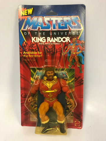 1987 Mattel He-Man & The Masters of the Universe King Randor MOC SEALED Unopen