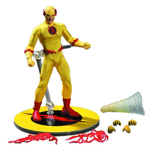 Mezco One:12 Collective DC Comics The Reverse Flash Eobard Thawne Professor Zoom 6 Inch Scale
