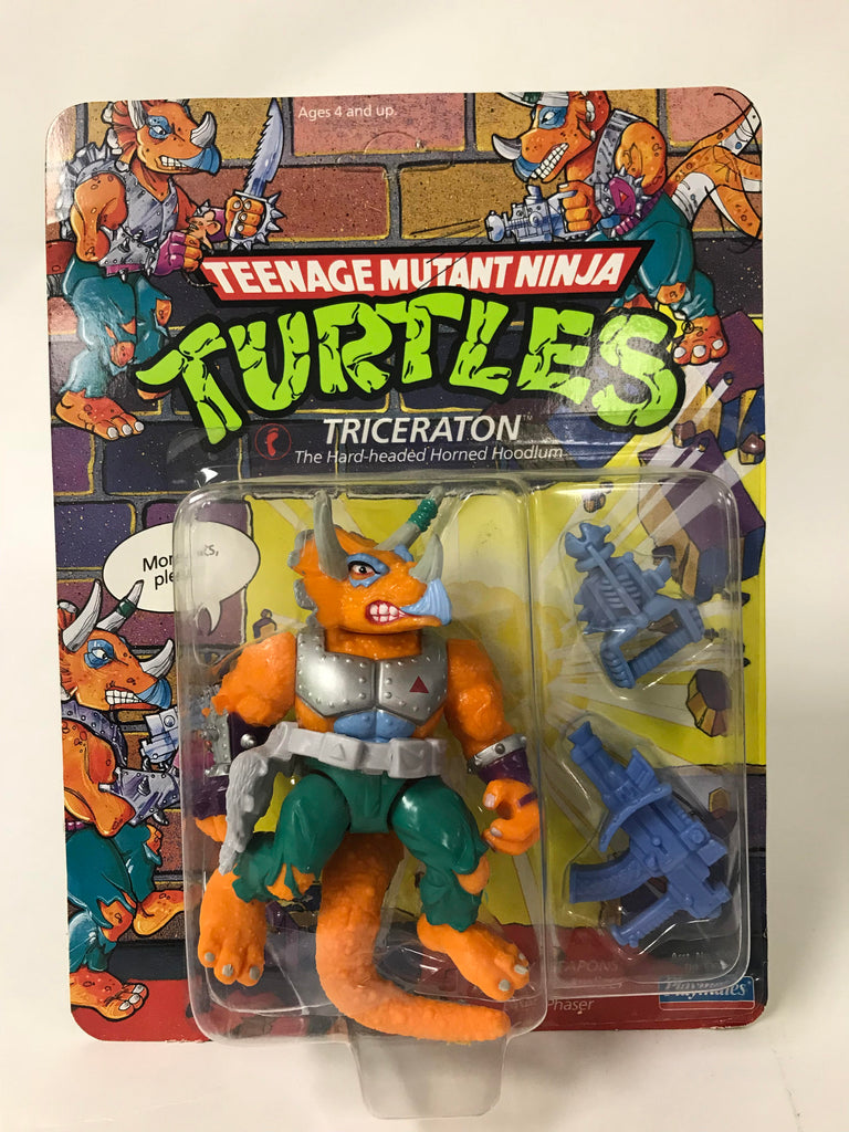 1990 Playmates Teenage Mutant Ninja Turtles TMNT Triceraton MOC