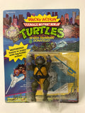 1989 Playmates Teenage Mutant Ninja Turtles TMNT Wacky Action Sewer Swimmin' Donatello MOC