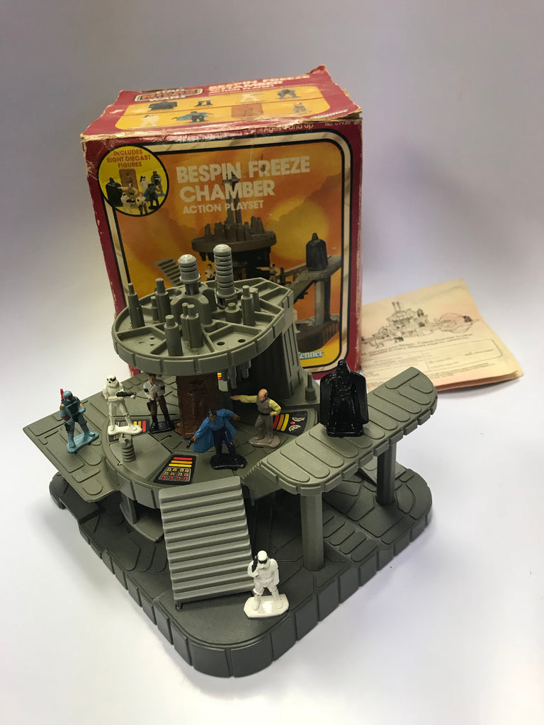 1980 Kenner Star Wars Micro Collection Bespin Freeze Chamber Action Playset Complete in Box