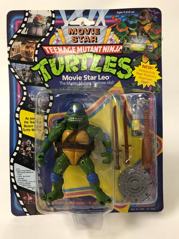 1991 Playmates Teenage Mutant Ninja Turtles TMNT Movie Star Leo Leonardo MOC