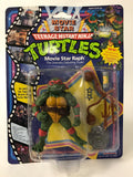 1991 Playmates Teenage Mutant Ninja Turtles TMNT Movie Star Turtles Complete Set of 4 MOC