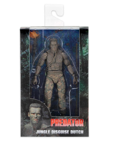 NECA Predator 30th Anniversary 7 inch Action Figure - Jungle Disguise Dutch