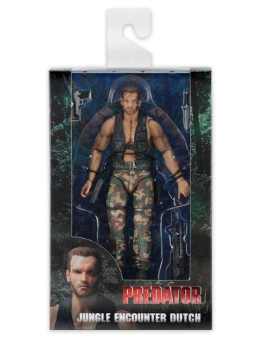NECA Predator 30th Anniversary 7 inch Action Figure - Jungle Encounter Dutch
