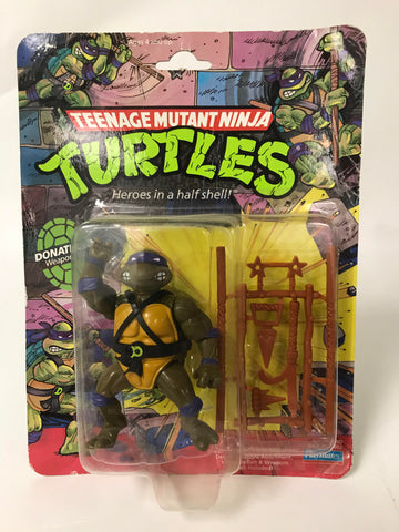 1988 Playmates Teenage Mutant Ninja Turtles TMNT 10 Back Soft Head Donatello MOC