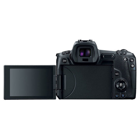 EOS R body + EF-adapter