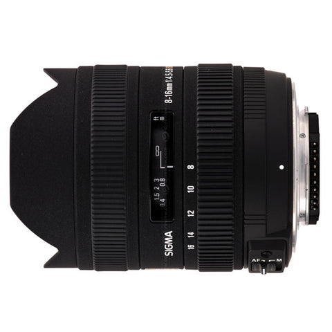 8-16mm F4.5-5.6 DC HSM  Canon