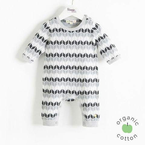 Arley organic playsuit