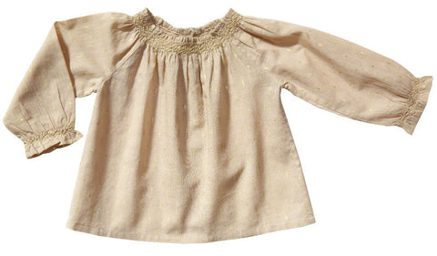 Bouty smocked blouse
