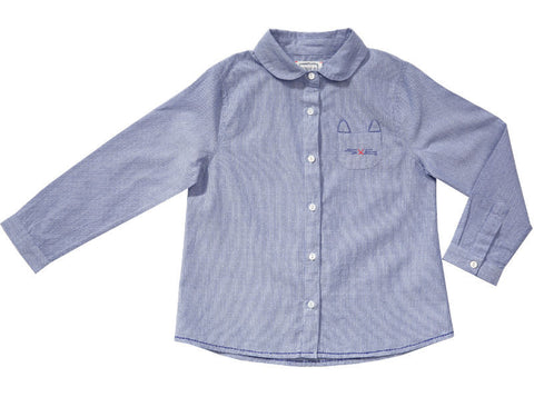 Leo cats with embroidered pocket (12 months only)
