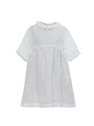 Bella dress in beautiful linen (2 to 4 years)