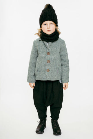 Colette fitted jacket with contrast lining (4 to 6 years)