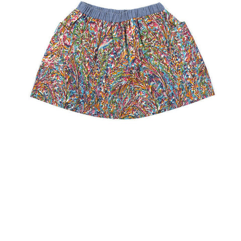 Hannah printed skirt with two pockets (2 years)