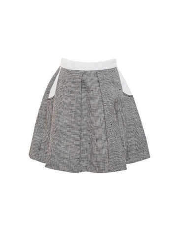 Vera skirt in beautiful linen (2 to 4 years)