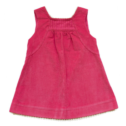 Hope classic pinafore in corduroy