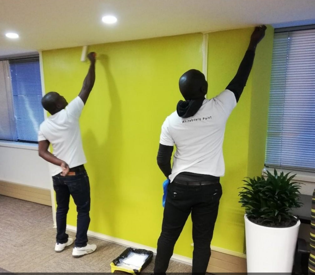 4. MOXIwall Whiteboard Paint (R300 per m²)