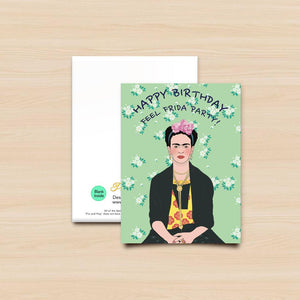 Pro & Hop Frida Greeting Card