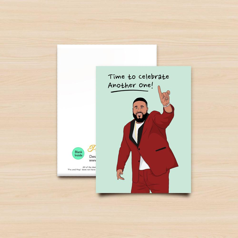 Pro & Hop Khaled Greeting Card