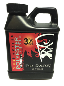 Phix Doctor Sunpowered Polyester Sanding Resin 1/2 Pint 240ml