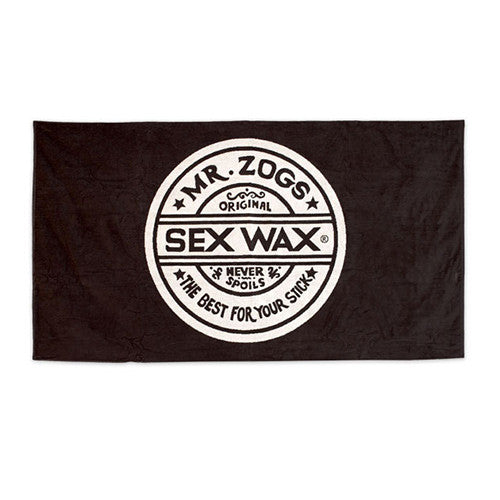 Sexwax Large Beach Towel