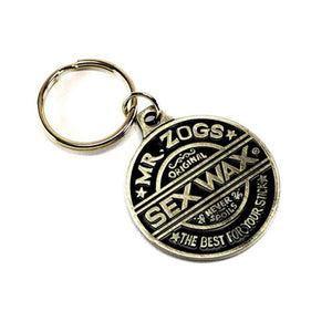 Sexwax Pewter Key Ring