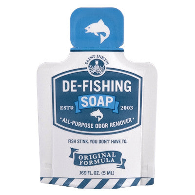 De-Fishing Soap Pocket Pack - Sold in packs of 6