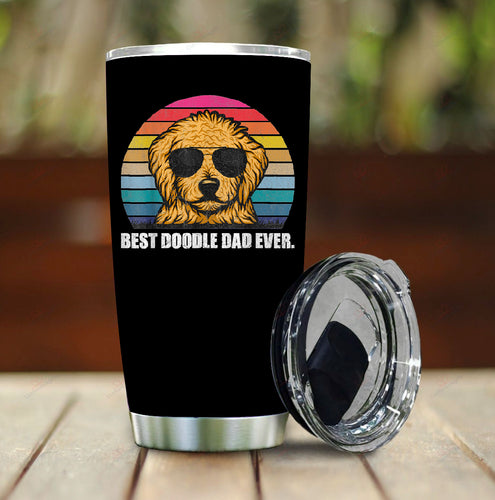 Doodle Dad Stainless Steel Tumbler
