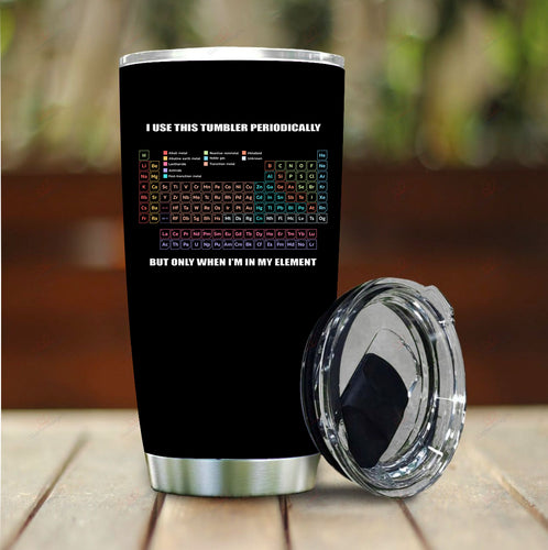 Periodically Stainless Steel Tumbler