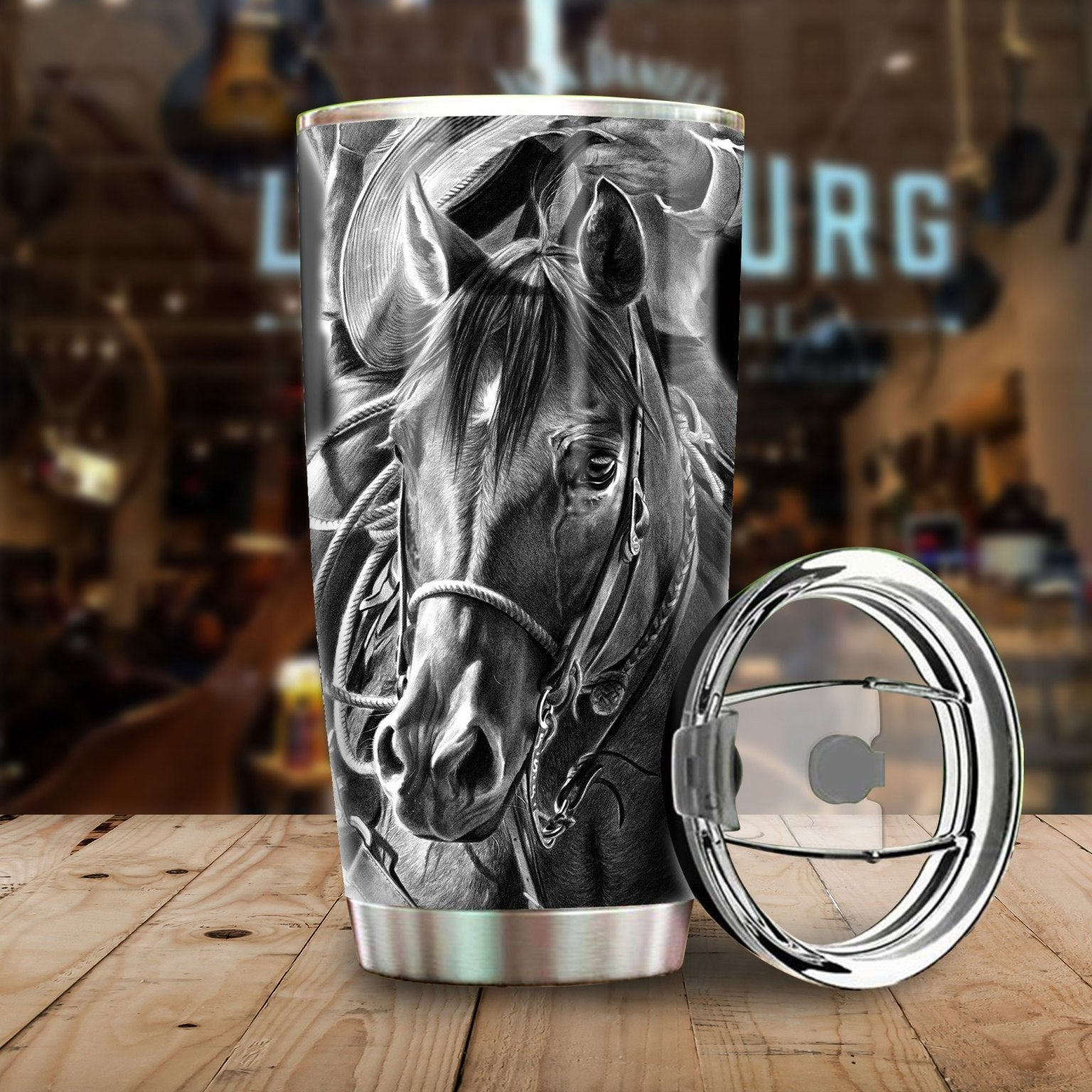 Dark Horse Stainless Steel Tumbler