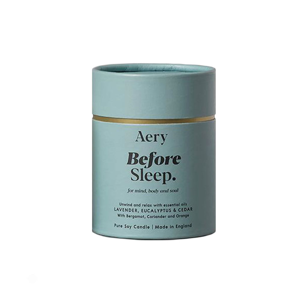 Before Sleep 200g Soy Wax Candle - Lavender Eucalyptus Cedar